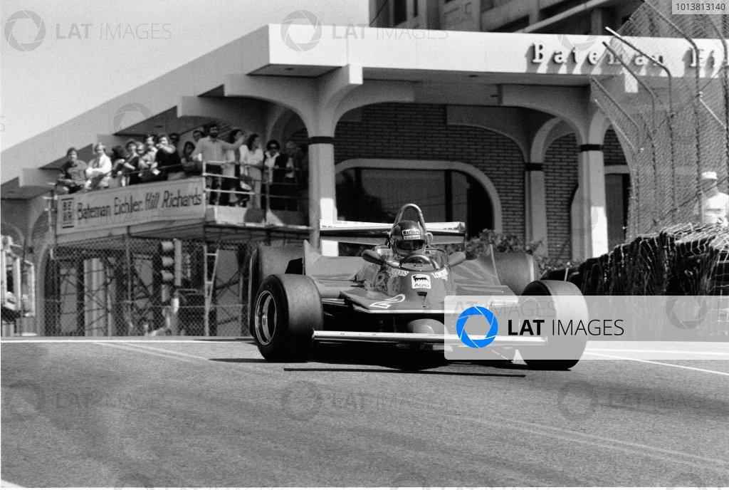 Long Beach, California, USA. 28-30 March 1980.Gilles Villeneuve (Ferrari 312T5), retired, action.World Copyright: LAT PhotographicRef: L80/519/17A