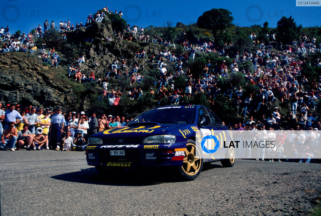 Tour de Corse, Corsica. 3rd - 5th May1995.