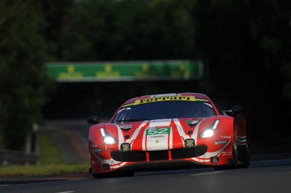 52 AF Corse Ferrari 488 GTE EVO: Toni Vilander, Antonio Giovinazzi, Pipo Derani