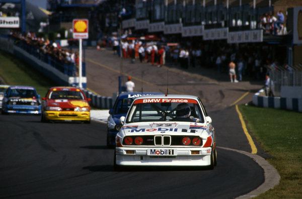 Jonathan Palmer (GBR) BMW Team Finance BMW M3. British Touring Car Championship, Rd4, Donington Park, England, 28 July 1991.