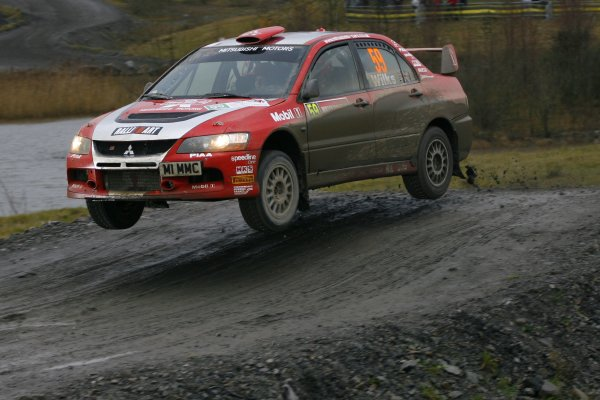 2007 World Rally Championship,Wales Rally GB, 30th November - 2nd December 2007,Guy Wilks, Mitsubishi, Action World Copyright: McKlein/LAT Photographic