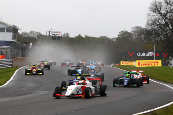 2017 BRDC Formula Three Championship, Oulton Park, 15th-17th April, 2017, Toby Sowery (GBR) Lanan  World copyright. JEP/LAT Images