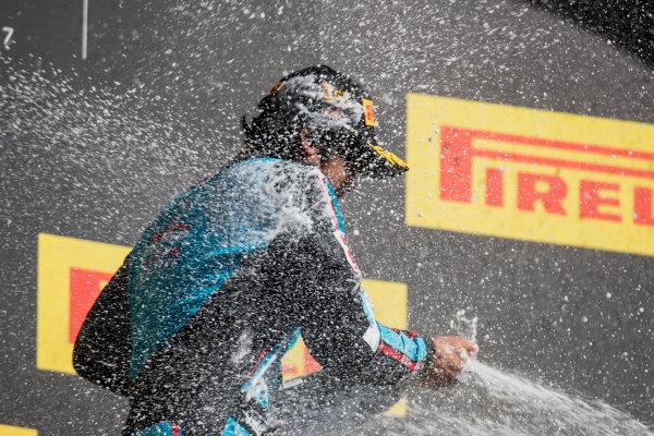 2017 GP3 Series Round 1.  Circuit de Catalunya, Barcelona, Spain. Sunday 14 May 2017. Arjun Maini (IND, Jenzer Motorsport)  Photo: Zak Mauger/GP3 Series Media Service. ref: Digital Image _54I9526