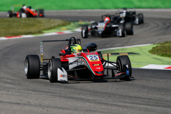 2017 FIA Formula 3 European Championship. Round 2 - Monza, Italy. Sunday 30 April 2017. Mick Schumacher, Prema Powerteam, Dallara F317 - Mercedes-Benz World Copyright: James Gasperotti/LAT Images ref: Digital Image _JG14729