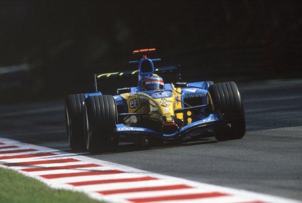 2005 Italian Grand Prix. Monza, Italy. 2nd - 4th September 2005.xxWorld Copyright: xx Ref: 35mm Image Axx