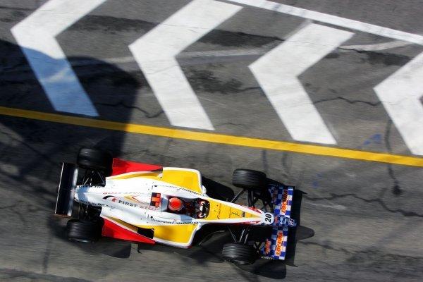 Juan Cruz Alvarez (ARG) Campos RacingGP2, Rd 1, San Marino Grand Prix, Imola, Italy, 22 April 2005.DIGITAL IMAGE