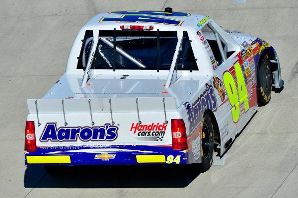 October 25-26, 2013, Martinsville, Virginia USA Chase Elliott truck © 2013, Brian Czobat LAT Photo USA