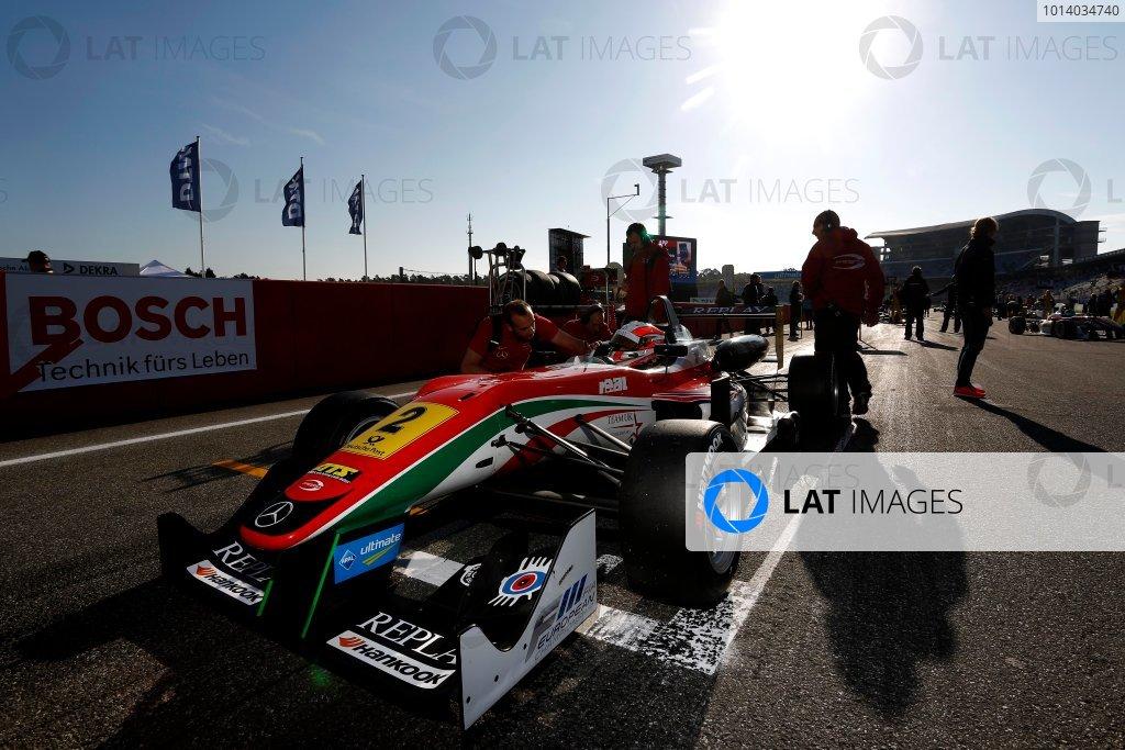 Alex Lynn (GBR) PREMA POWERTEAM Dallara F312 Mercedes