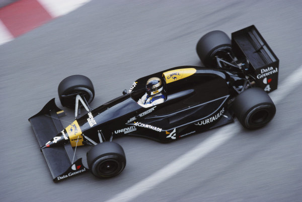 Julian Bailey, Tyrrell 017 Ford.