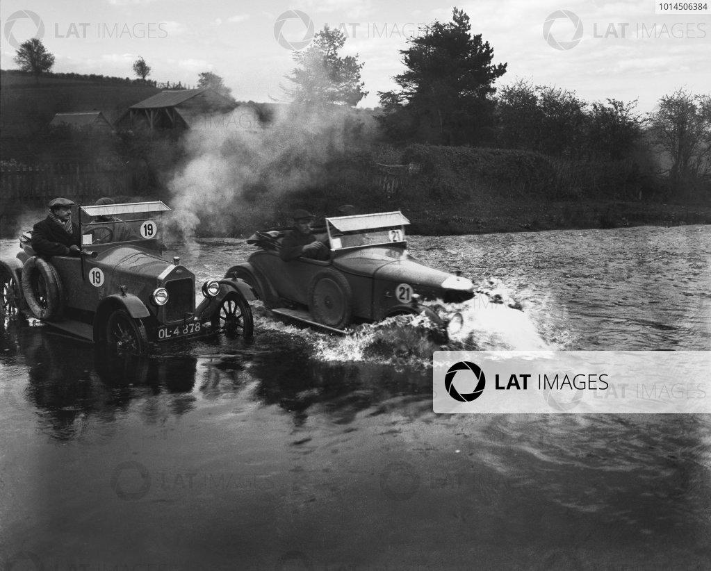 1924 RAC Small Car Trials.