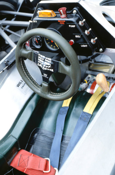 1983 British Grand Prix.Silverstone, Great Britain. 16 July 1983Williams FW08C-Ford Cosworth.World Copyright:LAT Photographic