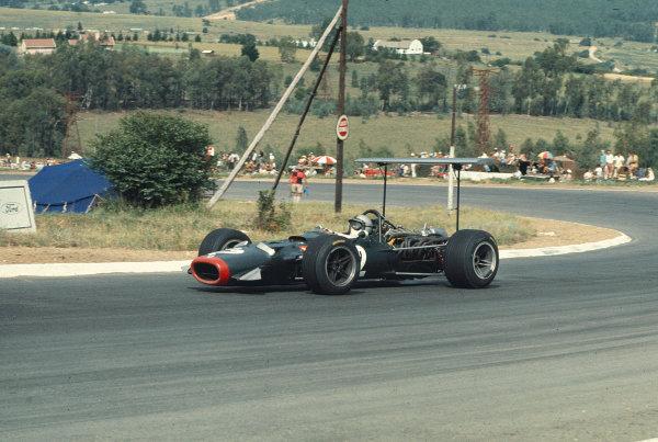 1969 South African Grand Prix.Kyalami, South Africa.27/2-1/3 1969.Pedro Rodriguez (BRM P126).Ref-69 SA 52.World Copyright - LAT Photographic