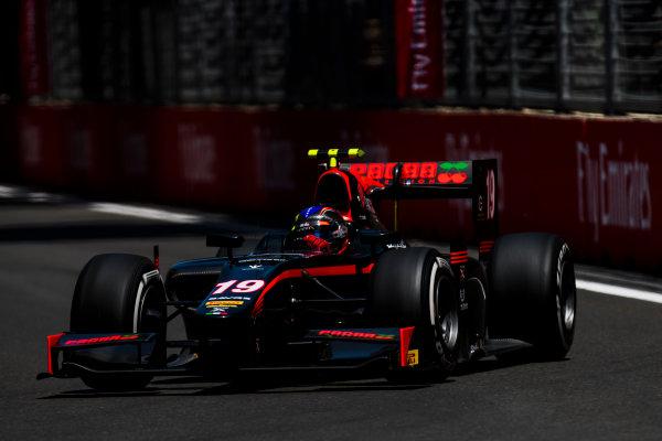 2017 FIA Formula 2 Round 4. Baku City Circuit, Baku, Azerbaijan. Friday 23 June 2017. Johnny Cecotto Jr. (VEN, Rapax)  Photo: Zak Mauger/FIA Formula 2. ref: Digital Image _54I9894