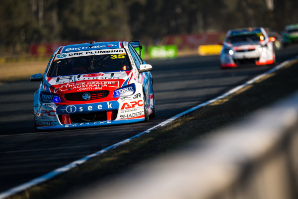 2017 Supercars Championship Round 8.  Ipswich SuperSprint, Queensland Raceway, Queensland, Australia. Friday 28th July to Sunday 30th July 2017. Todd Hazelwood, Matt Stone Racing.  World Copyright: Daniel Kalisz/ LAT Images Ref: Digital Image 280717_VASCR8_DKIMG_8438.jpg