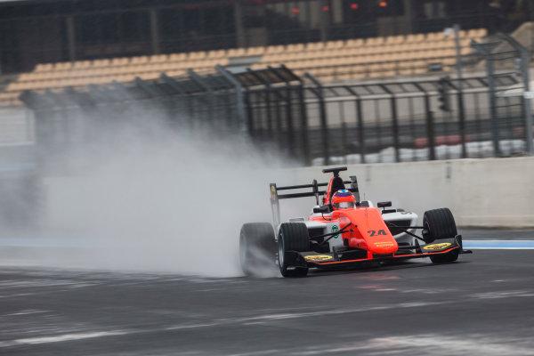 2018 GP3 Series Test 1. Circuit Paul Ricard, Le Castellet, France. Thursday 22 February 2018. Niko Kari (FIN, MP Motorsport) Photo: Andrew Ferraro/GP3 Series Media Service. ref: Digital Image _X0W8913