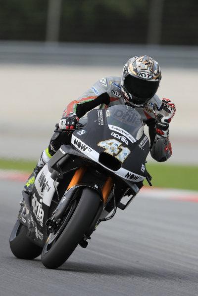 2018 MotoGP Championship - Sepang test, Malaysia Tuesday 30 January 2018 Aleix Espargaro, Aprilia Racing Team Gresini World Copyright: Gold and Goose / LAT Images ref: Digital Image 1127
