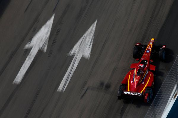 2014 Formula E  Punta Del Este e-Prix, Uruguay Sunday 14 December 2014. Antonio Garcia (ESP)/China Racing - Spark-Renault SRT_01E  Photo: Sam Bloxham/LAT/Formula E ref: Digital Image _14P6128