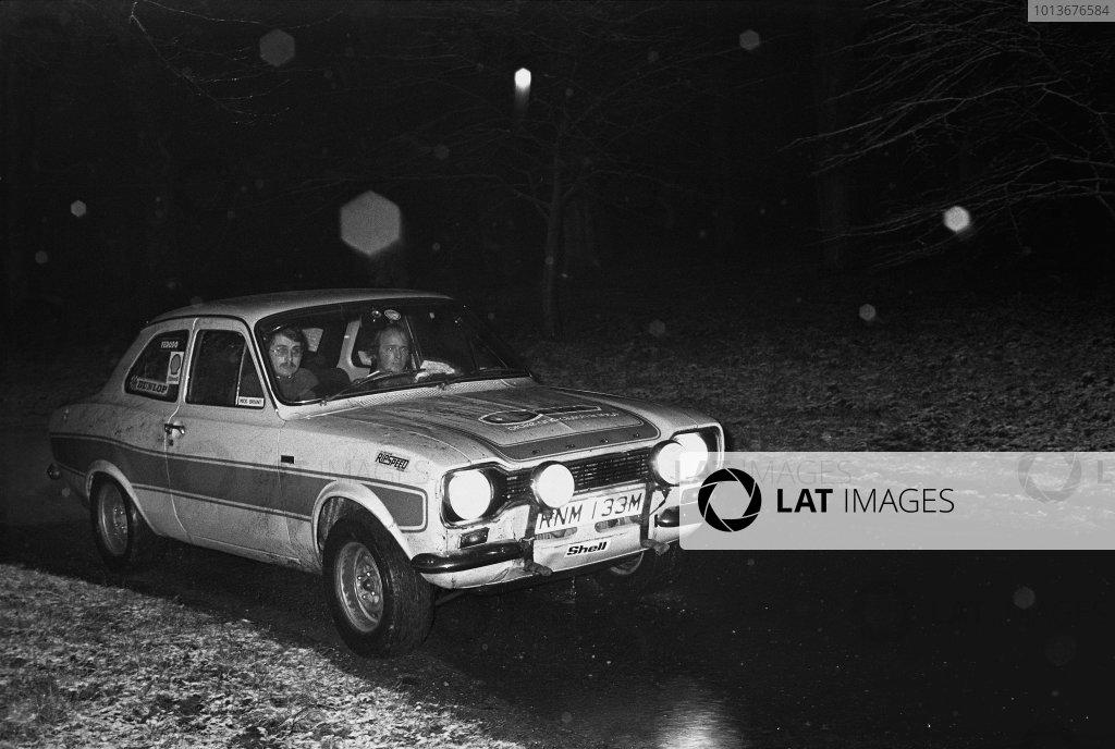 1975 Motoring News Rally Championship.
