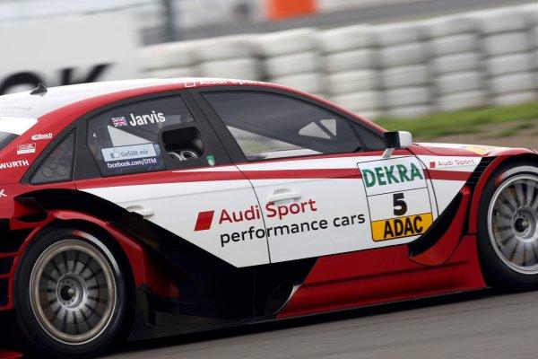 Oliver Jarvis (GBR), Audi Sport Team Abt.DTM, Rd6, Nurburgring, Germany, 6-7 August 2011.World Copyright: LAT Photographicref: Digital Image dne1106au60