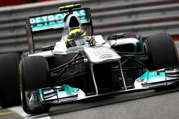 Interlagos, Sao Paulo, Brazil26th November 2011Nico Rosberg, Mercedes GP W02. Action. World Copyright: Andy Hone/LAT Photographicref: Digital Image CSP28964