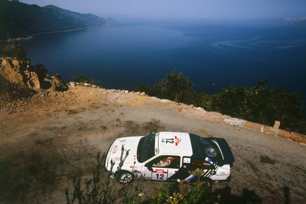 Tour de Corse, Corsica, France. 3 - 6 May 1988. Rd 5.