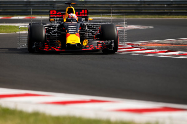 Hungaroring, Budapest, Hungary.  Wednesday 02 August 2017 Pierre Gasly, Red Bull Racing RB13 TAG Heuer.. World Copyright: Joe Portlock/LAT Images  ref: Digital Image _L5R2057
