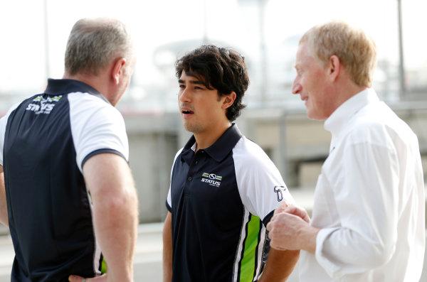 2015 GP2 Test 1 Yas Marina Circuit, Abu Dhabi, United Arab Emirates Wednesday 10 March 2015 Marlon Stockinger (PHI, Status GP) Photo: Jed Leicester/GP2 Series Media Service ref: Digital Image _JL14570