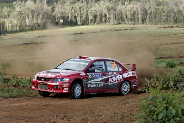 2006 FIA World Rally Champs. Round 6Rally Australia 26-29 October 2006Mirco Baldacci, Mitsubishi GpN, actionWorld Copyright: McKlein/LAT