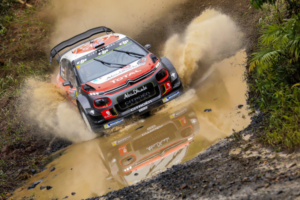 2017 FIA World Rally Championship, Round 13, Rally Australia 2017, 16-19 November 2017, Kris Meeke, Citroen, action, Worldwide Copyright: LAT/McKlein