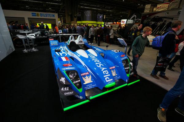 Autosport International Exhibition. National Exhibition Centre, Birmingham, UK. Sunday 14th January 2018. Le Mans cars on display.World Copyright: Mike Hoyer/JEP/LAT Images Ref: AQ2Y9842