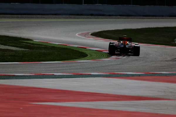 Circuit de Catalunya, Barcelona, Spain.  Wednesday 18 May 2016.  Max Verstappen, Red Bull Racing RB12 TAG Heuer.  World Copyright: Sam Bloxham/LAT Photographic ref: Digital Image _R6T1873