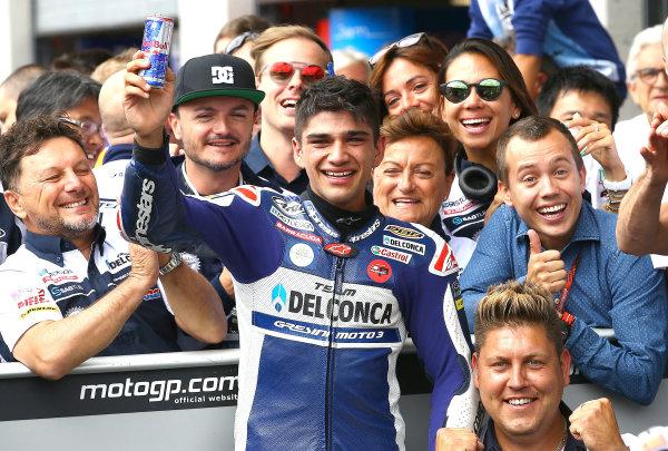 2017 Moto3 Championship - Round 11 Spielberg, Austria Sunday 13 August 2017 Jorge Martin, Del Conca Gresini Racing Moto3 World Copyright: Gold and Goose / LAT Images ref: Digital Image 687212