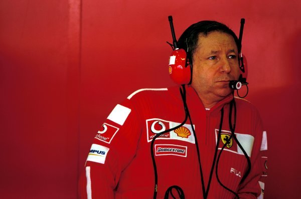 Ferrari sporting director Jean Todt (FRA).United States Grand Prix, Rd15, Indianapolis Motor Speedway, Indianapolis, USA. 28 September 2003.BEST IMAGE