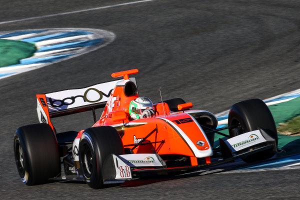 JEREZ (ESP) 28-30 oct 2016, Spanish F4, Euro Formula Open and Formula V8 3.5 2016 at circuito de Jerez. Alfonso Celis Jr. #15 AVF. Action. © 2016 Klaas Norg / Dutch Photo Agency / LAT Photographic