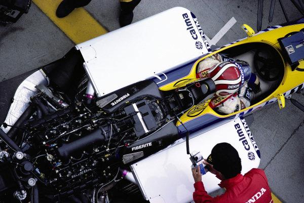 Nelson Piquet, Williams FW11B Honda.