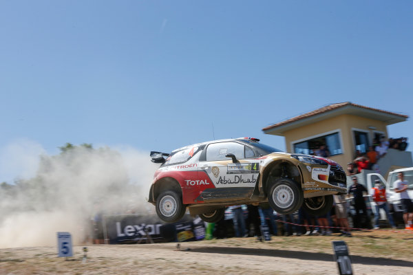 2014 World Rally Championship Rally Italy Sardinia 5th - 8th June 2014 Mads Ostberg, Citroen, Action Worldwide Copyright: McKlein/LAT
