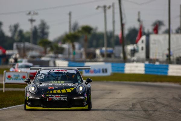 16-18 March, 2016, Sebring, Florida, USA 88, Marco Cirone, Platinum, M, 2015 Porsche ?2016, Jake Galstad LAT Photo USA