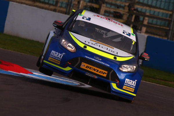 2017 British Touring Car Championship, Donington Park, England. 16th March 2017, Stephen Jelley (GBR) Team Parker with Maximum Motorsport Ford Focus  World copyright. JEP/LAT Images