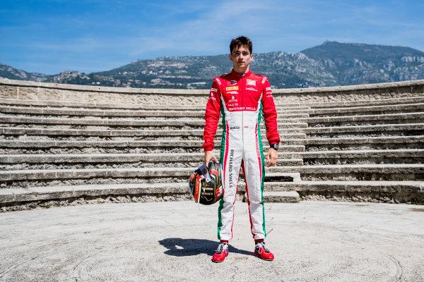 2017 FIA Formula 2 Round 3. Monte Carlo, Monaco. Wednesday 24 May 2017. Charles Leclerc (MCO, PREMA Racing)  Photo: Zak Mauger/FIA Formula 2. ref: Digital Image _54I4759