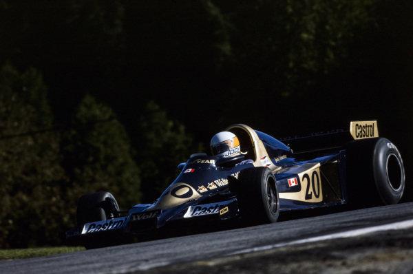 Jody Scheckter, Wolf WR1 Ford, 1st position.