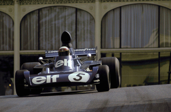 Jackie Stewart (GBR) Tyrrell 006/2 took his twenty-fifth GP victory. Monaco Grand Prix, Monte Carlo, 3 June 1973. BEST IMAGE