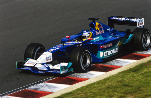 Nick Heidfeld, Sauber C20 Petronas.