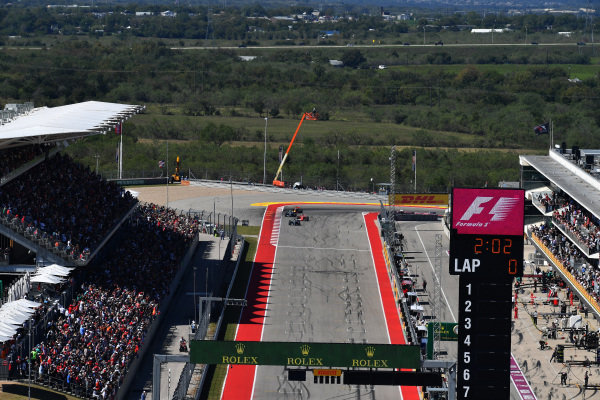 Grid at Formula One World Championship, Rd17, United States Grand Prix, Race, Circuit of the Americas, Austin, Texas, USA, Sunday 22 October 2017.
