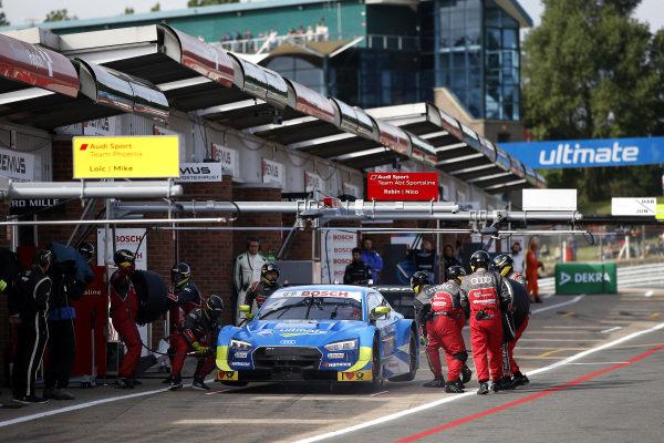 Pit stop, Robin Frijns, Audi Sport Team Abt Sportsline, Audi RS5 DTM.
