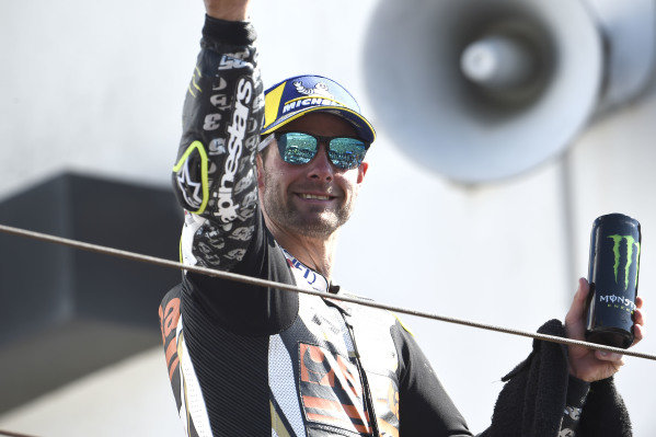 Podium: third place Cal Crutchlow, Team LCR Honda.