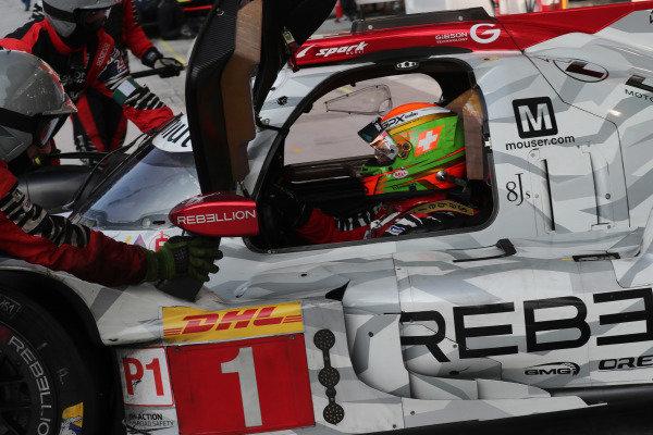 #1 Rebellion Racing Rebellion R-13 - Gibson: Louis Deletraz, Norman Nato
