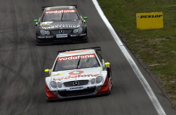 2002 DTM Championship - Zandvoort, Holland. Sep 28 - 29. World Copyright: Marco Miltenburg/LAT Photographic