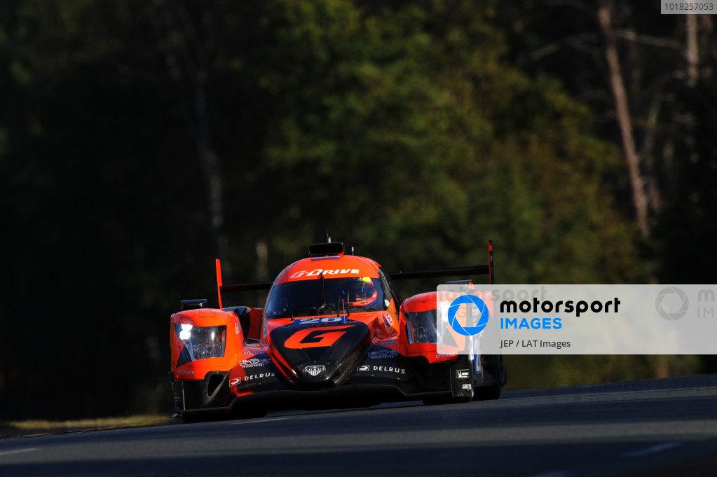#26 G-Drive Racing Oreca 07: Roman Rusinov / Jean-Eric Vergne / Mikkel Jensen