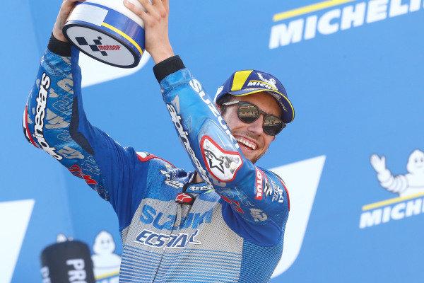 Race winner Alex Rins, Team Suzuki MotoGP.