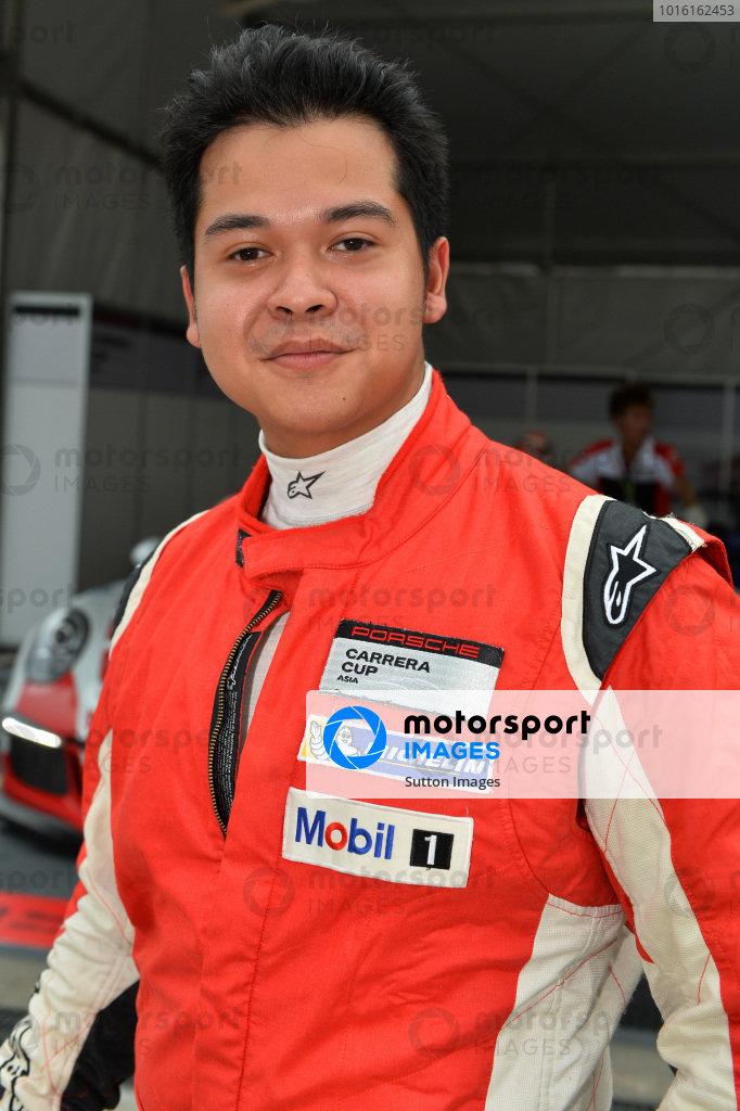 Alif Hamdan (MAS) Nexus Racing. Porsche Carrera Cup Asia, Sepang, Malaysia, 28-30 March 2014.
